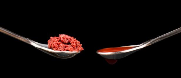 Berry Vinegar and Vinegared Pulp